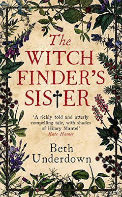 ARC Review: The Witchfinder's Sister by Beth Underdown