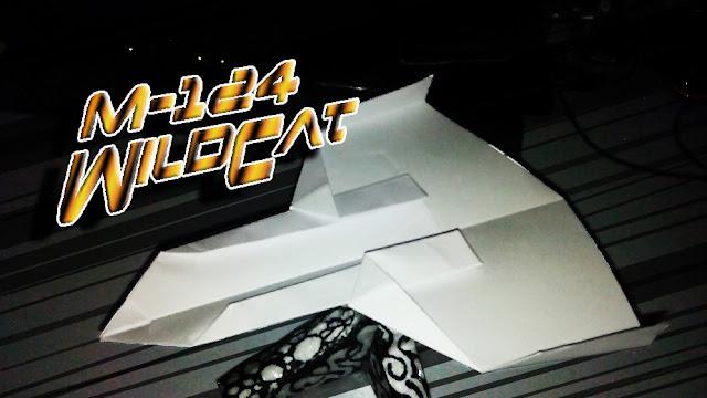 Avión de papel M-124 WildCat