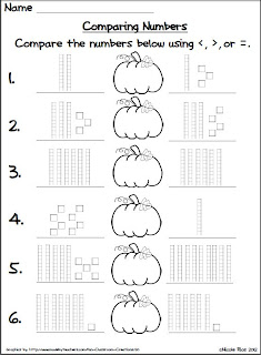 Mrs. Rios Teaches: Halloween Place Value Freebie
