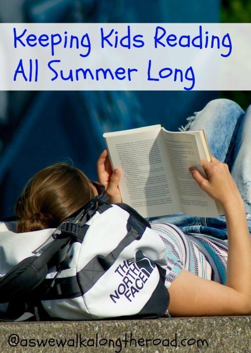 Ideas for keeping kids reading throughout the summer