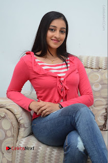Telugu Actress Mouryani Latest Pos in Blue Denim Jeans  0126.JPG