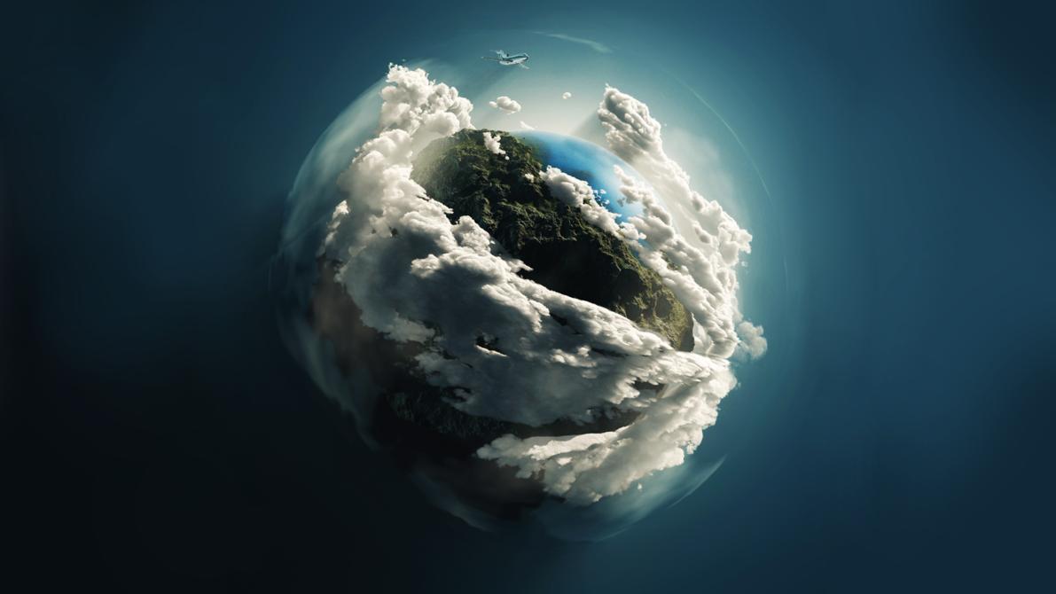 Earth Digital Art Hd Wallpaper: LINGUAGEM GEOGRÁFICA: WALLPAPERS