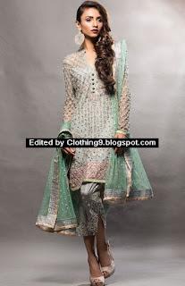 Zainab Chottani Party Wear 2016-17
