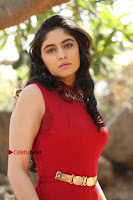 Telugu Actress Zahida Sam Latest Pos in Red Gown at RF Films New Movie Opening  0102.JPG