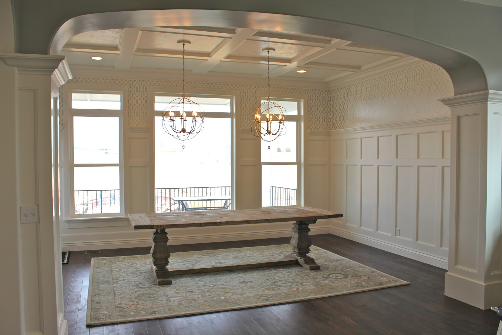 amy's casablanca: dining room transformation!