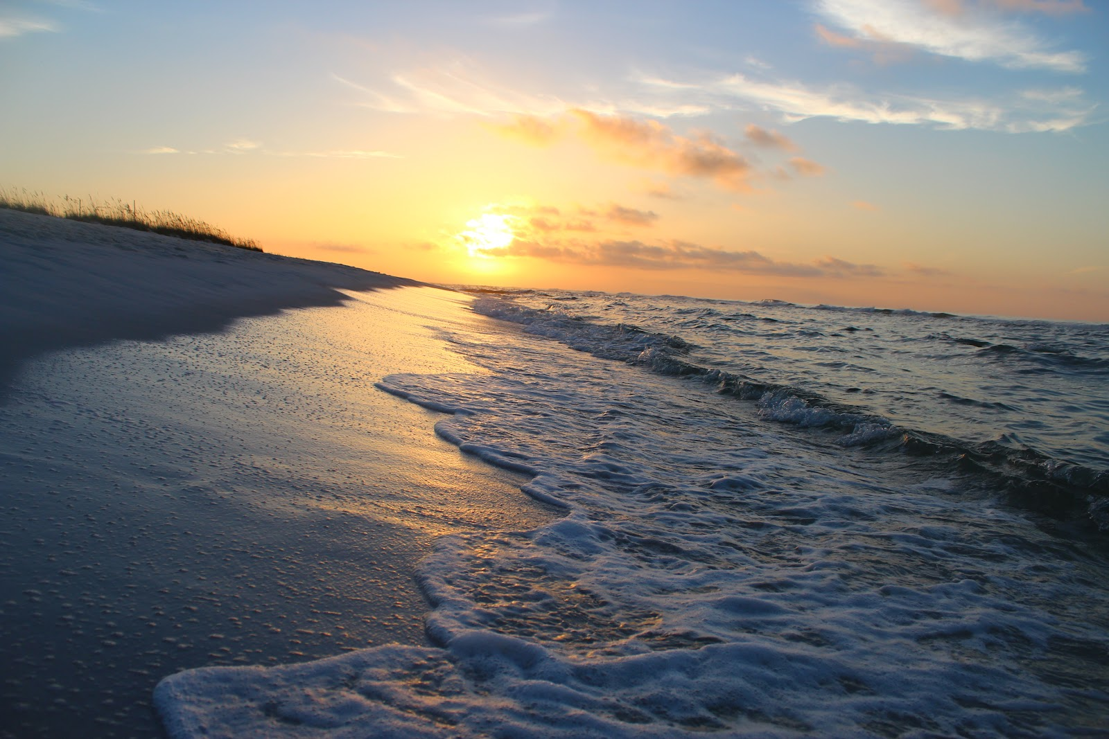 October Morning Sunrise In Pensacola Beach Is One Of Our Favorite Weather Months