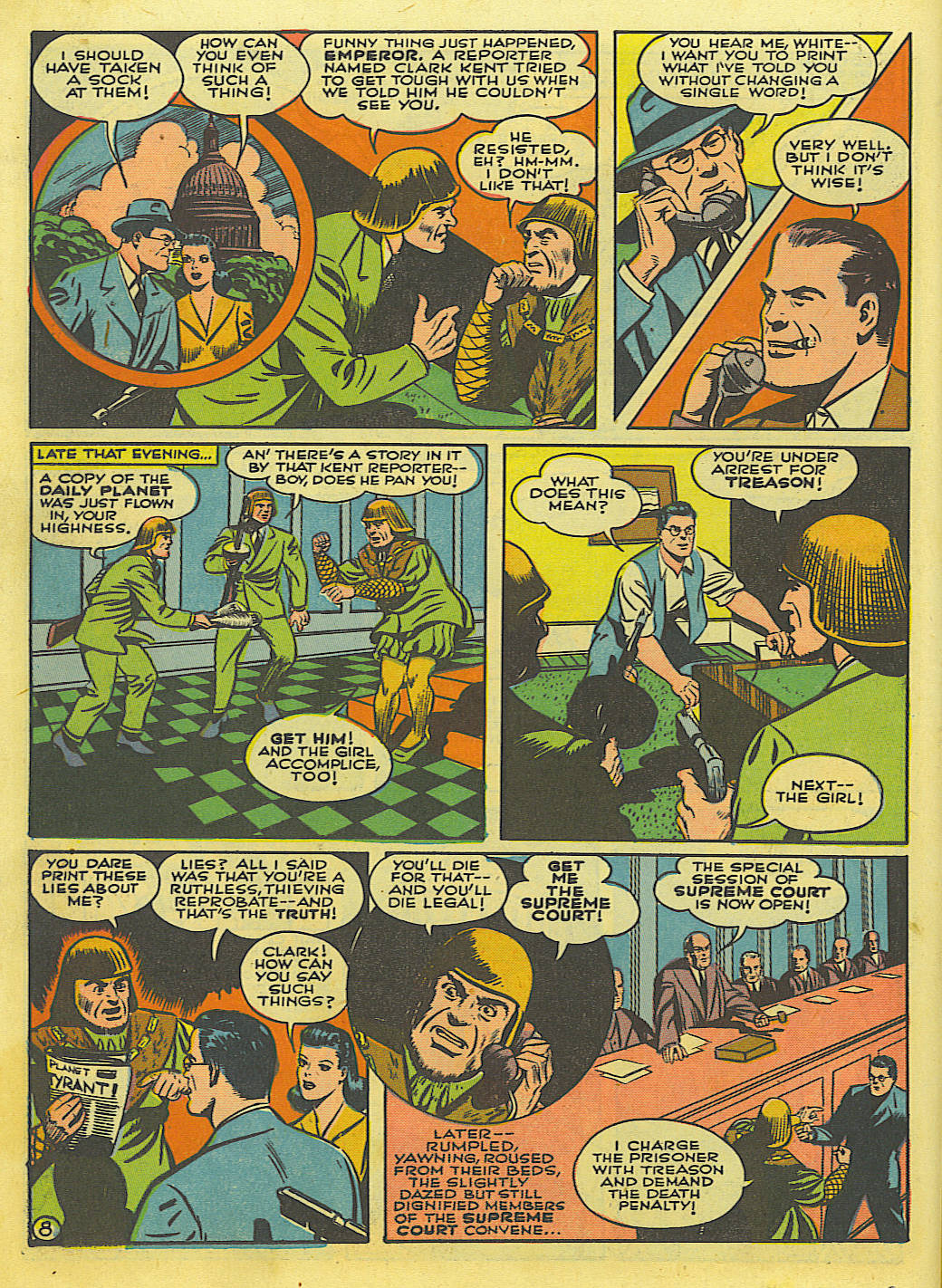 Read online Action Comics (1938) comic -  Issue #52 - 10