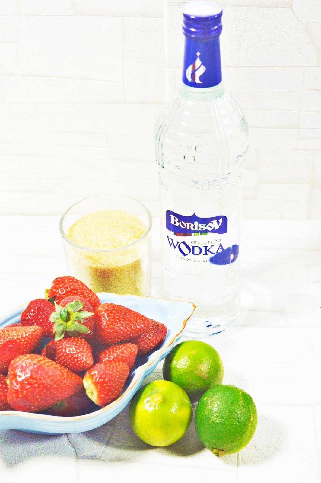 Erdbeerlimes Rezepte Zutaten