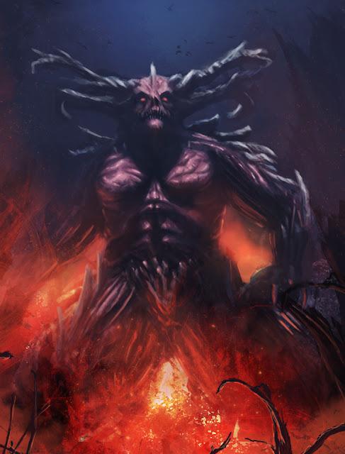 El demonio Croatoan segun Allan Poe