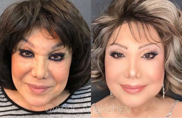 Découvrez un maquilleur qui transforme les femmes en déesse de la beauté