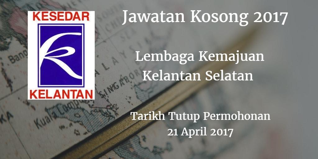 Jawatan Kosong KESEDAR 21 April 2017