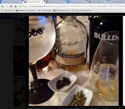 Gin-Tonic - el gastrónomo - Bulldog - el troblogdita - ÁlvaroGP - Bulldog Gin - Whisky - The Glenrothes - Güisqui - Sally Pepper