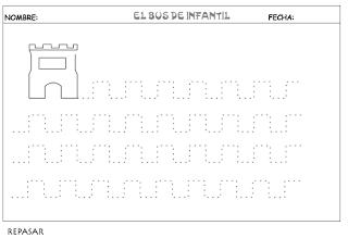 EL BUS DE INFANTIL  98  FICHAS PARA TRABAJAR LOS CONCEPTOS BÁSICOS