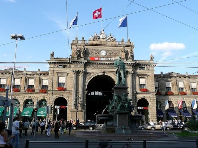 Estação Hauptbahnhof em Zurique