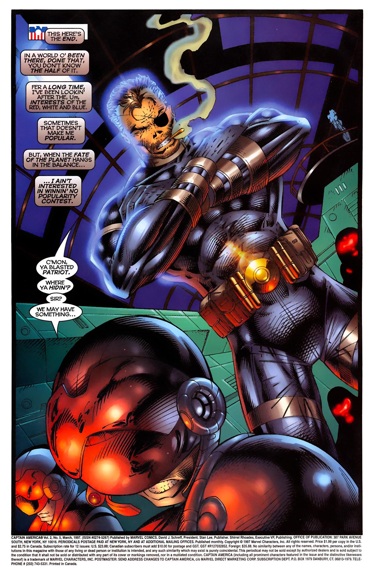 Captain America (1996) Issue #5 #5 - English 3