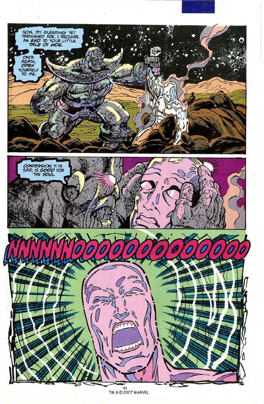 Read online Silver Surfer (1987) comic -  Issue #50 - 33