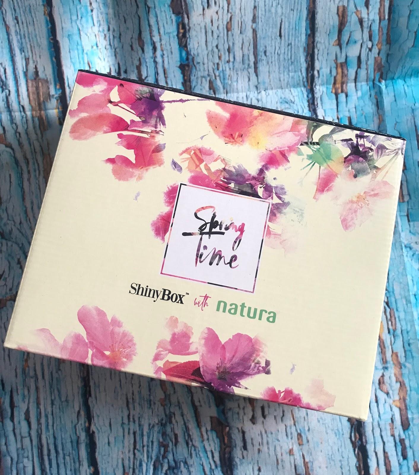 ShinyBox zawartośc kwietniowego pudelka  Spring Time