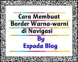 Cara Membuat Border Warna-Warni di Menu Navigasi 8