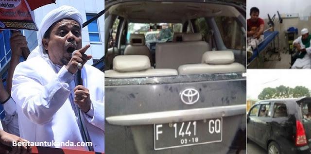 Mobil FPI Dirusak Massa GMBI, Habib Rizieq: Kita Serang Balik, Takbir!!!