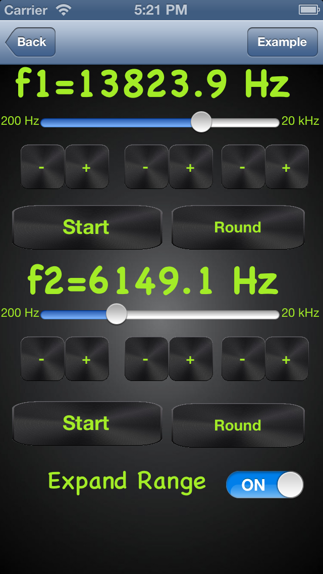 Iphone App Physics Beat Phenomena Simulator