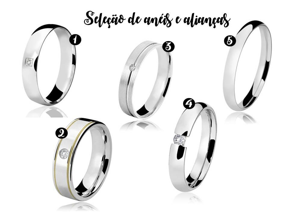 (1) Aliança de prata tongariro (2) Aliança de prata ourinhos crystalis (3)  Aliança de prata sao paulo crystalis (4) Aliança de prata bolonha crystalis  (5) ... e7dc8d6c62