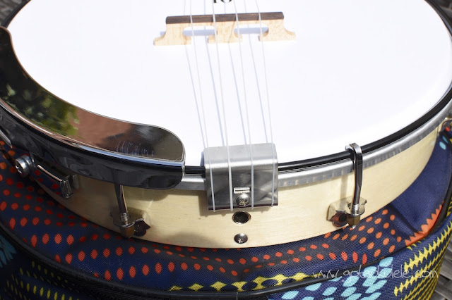 Duke 10 Banjo Ukulele tail and bridge