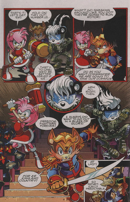 Read online Sonic The Hedgehog comic -  Issue #210 - 18