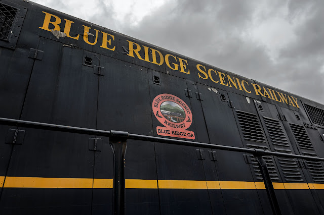 Blue Ridge Scenic Railway #7529 (BRSR)