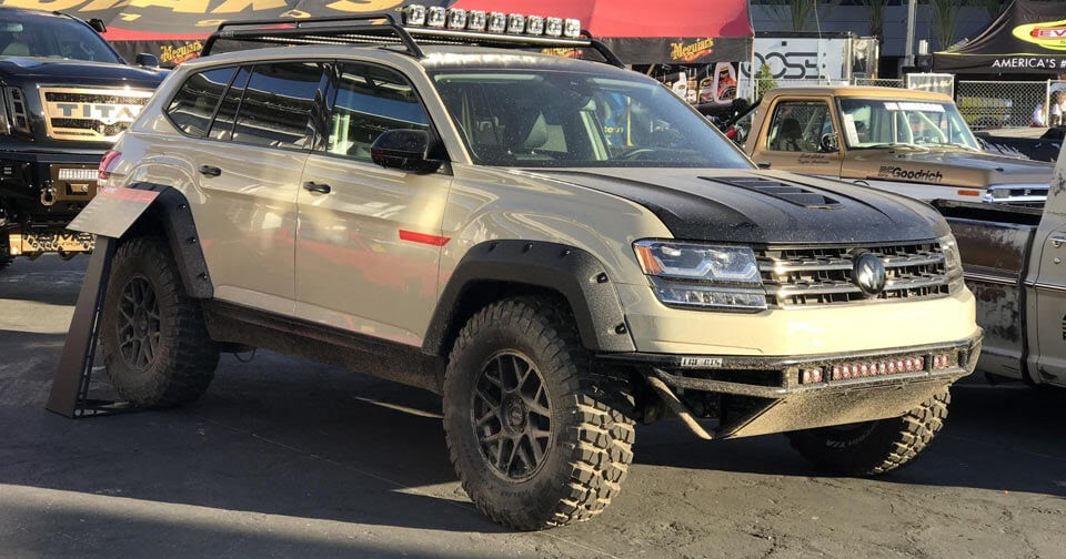 lge cts vw atlas ready  rally   tanner foust