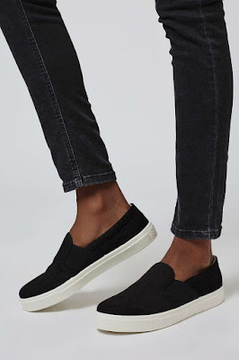 TIGA Anaconda embossed trainer, $32 from Topshop
