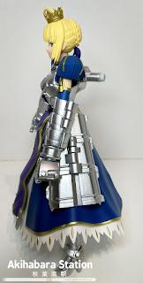 "A.G.P. ""Saber Arturia Pendragon & Variable Excalibur""."