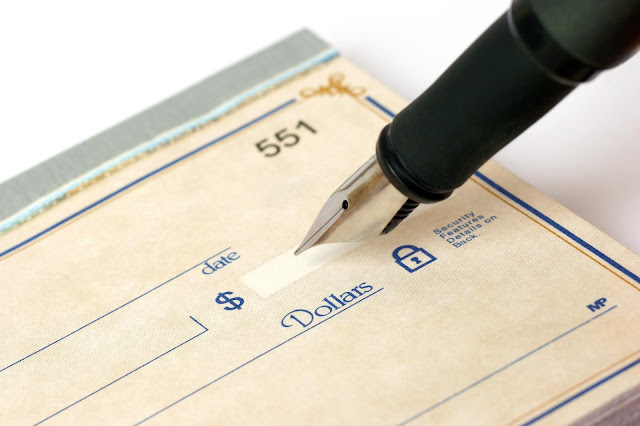 Best Reasons To Write Checks Now... SEE: