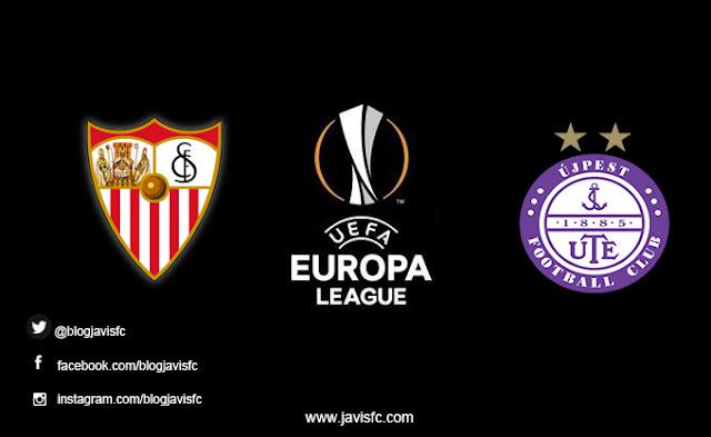 Previa Sevilla FC - Újpest FC