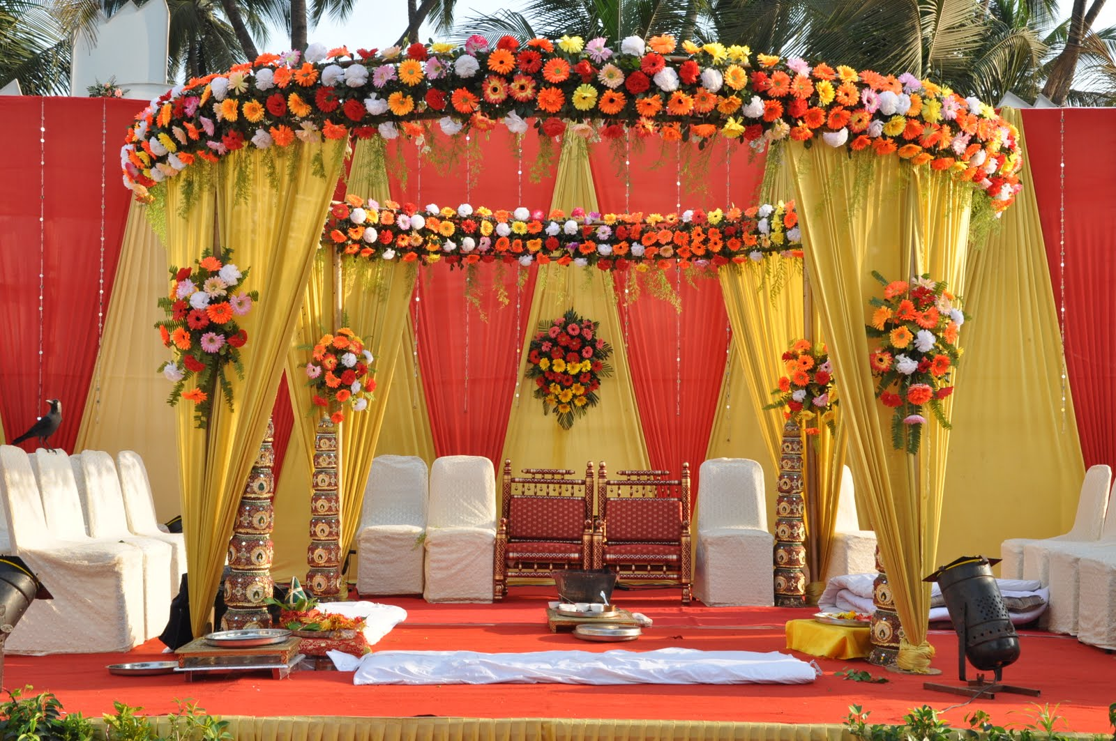 Flower Decorators Manama Indian Wedding Garlands Suppliers In Bab Al Bahrain
