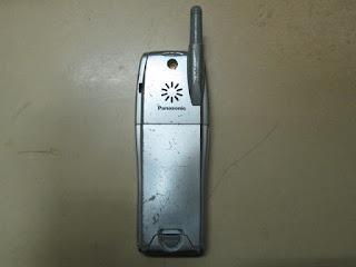 Hape Jadul Panasonic GD93 Rusak Buat Kanibalan