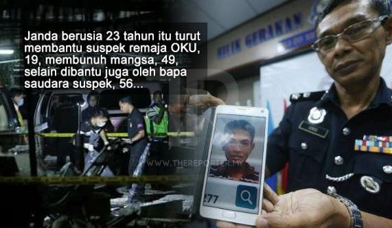 UPDATE! Mangsa Dibunuh & Dikerat 10 Bahagian Kerana Berebutkan Seorang Janda