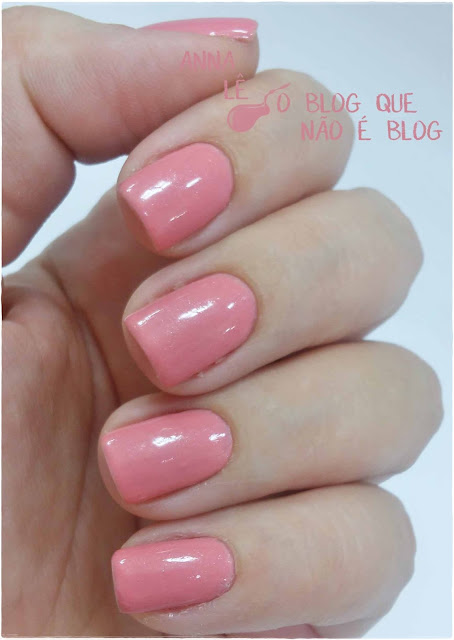 Rosa Romance Avon Gel Finish Esmalte Nailpolish