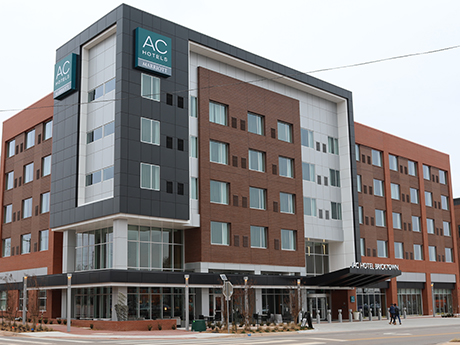 Newcrestimage Used Modular Units Built By Guerdon Buildings To Build The New Ac Hotel A First For Both Dallas Based Company And Oklahoma City S