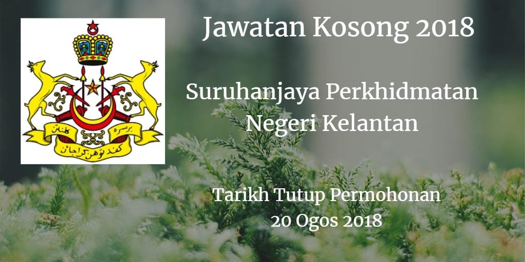 Jawatan Kosong SPN Kelantan 20 Ogos 2018