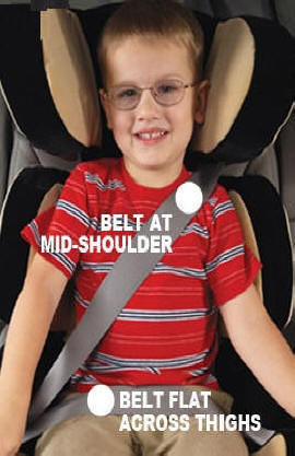Weekly Tip - Child Seat Safety