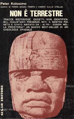 """Il libro """"Non è terrestre"""" di Peter Kolosimo"""