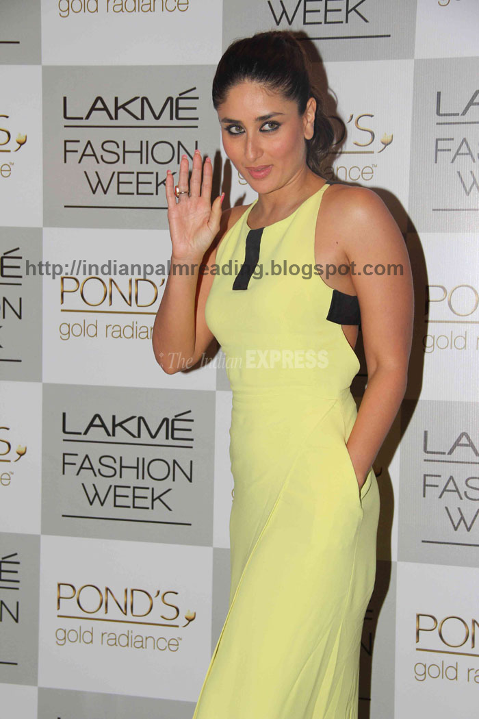 Kareena Kapoor Palm Image Indian Palmistry Astrology -2993