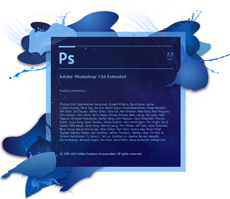 فوتوشوب CS6 , Adobe Photoshop CS6 Extended