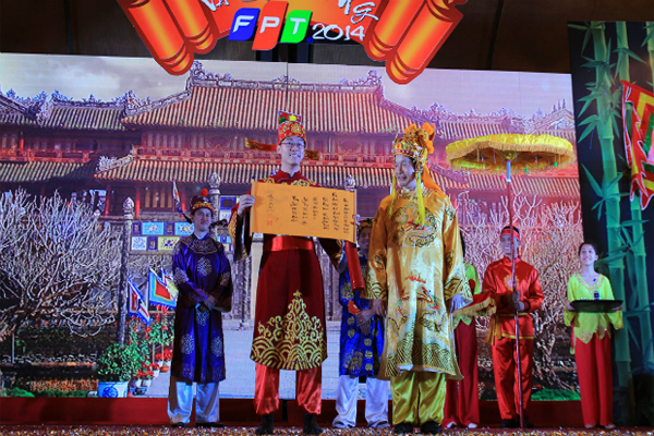 Tôn Vinh Các Cá Nhân Trong Hội Làng FPT 2016