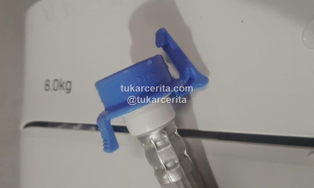 Pengunci selang air mesin cuci Samsung