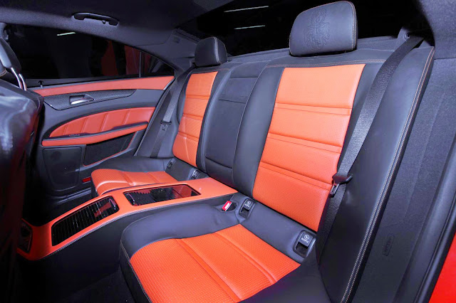 mercedes cls designo leather