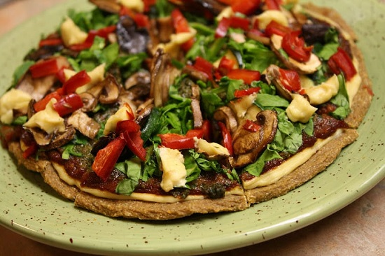 raw pizza primavera