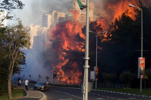 Israel aceitou a ajuda do Egito e Jordânia para combater os incêndios que continuam em todo o país