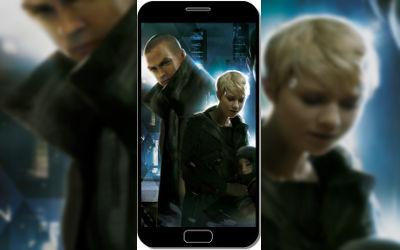 Detroit Become Human 3 Persos - Fond d'écran en FHD pour Mobile