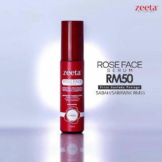 Harga Rose Face Serum Zeeta